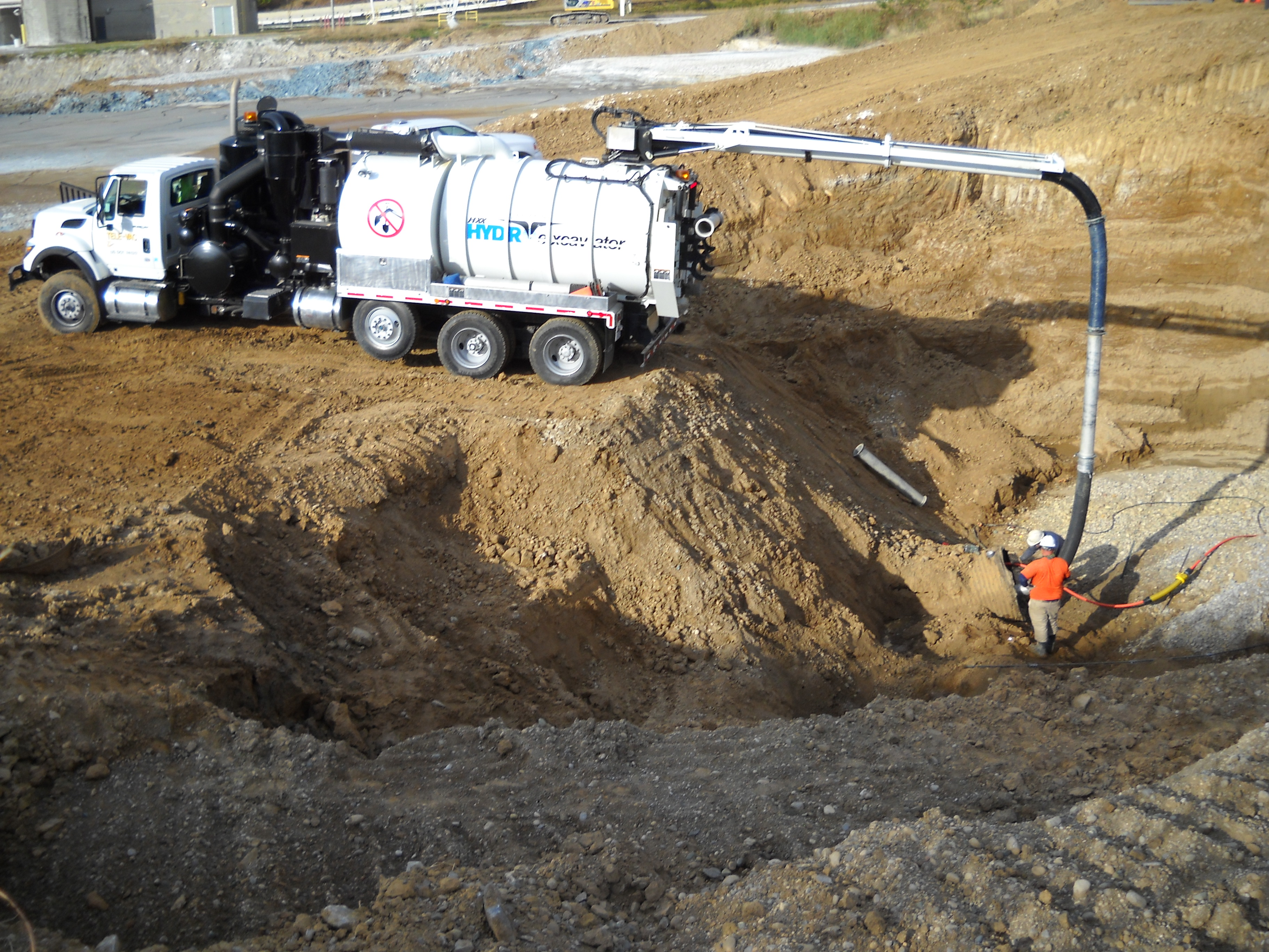 Hydro Excavation Truck